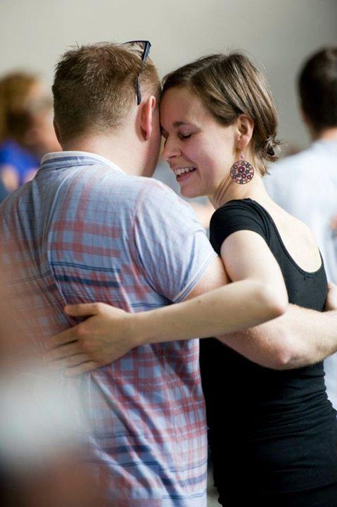 Birger og Solveig danser