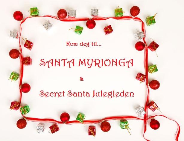 Secret Santa og Santa Myrionga